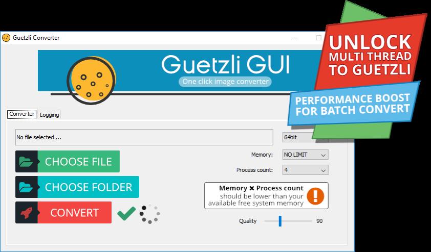 Home - Guetzli Converter GUI Guetzli Converter simple GUI